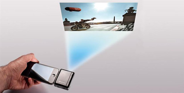i20 Mobile Cinema projector